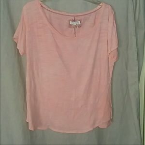 Anthropologie pure and good relaxed Tee